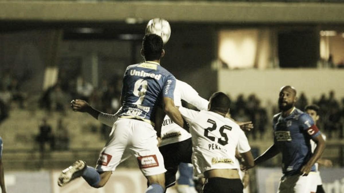 São Bento sai na frente, mas cede empate para Figueirense em casa