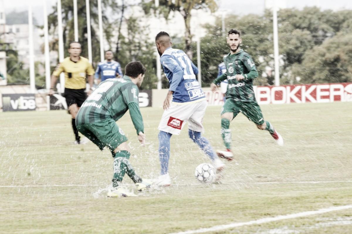 Em jogo atrasado por chuva, São Bento busca empate com Juventude e mantém-se invicto