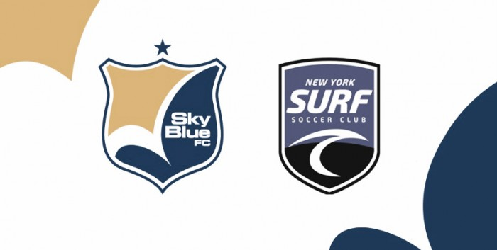 Sky Blue FC teams up with New York Surf Soccer Club