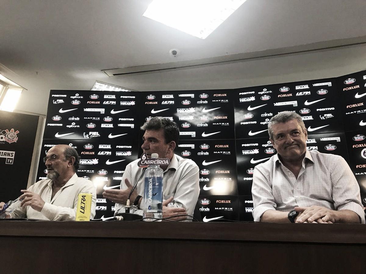 """Apesar de baixas no elenco, Andrés projeta futuro do Corinthians: """"Vamos ser competitivos"""""""
