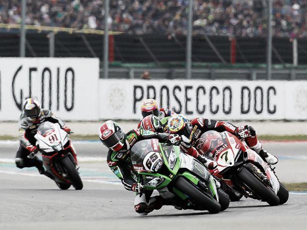 Resultado Segunda carrera de Superbikes 2015 del GP de Imola