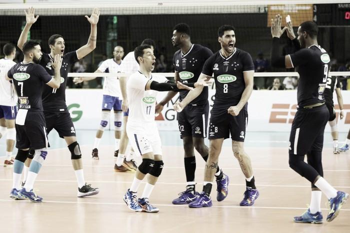Sada Cruzeiro vence, garante vaga na semifinal do Mundial de Clubes e aguarda Zenit Kazan