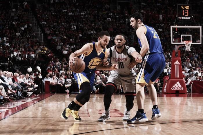 NBA, i Warriors spengono il fuoco di Houston (106-113)