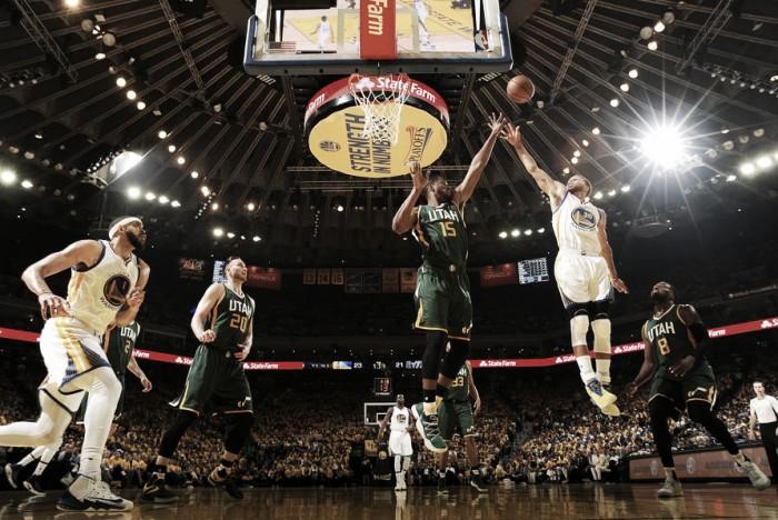 NBA playoffs, Golden State regola i Jazz in gara-1 (106-94)