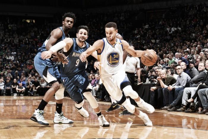 Nba, i Warriors si svegliano nel quarto quarto a Minneapolis (108-116)