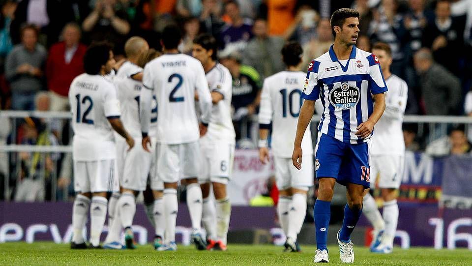 El Real Madrid se ceba con un flojo Deportivo