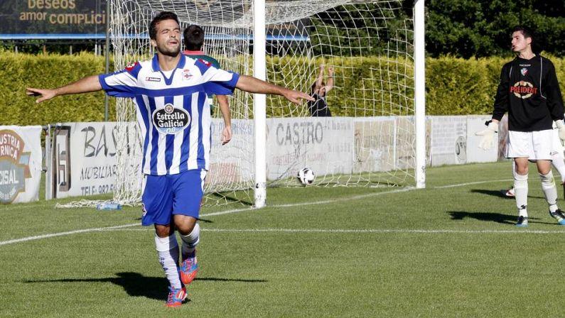 El Deportivo vence por la mínima al Racing Vilalbés y concluye su semana de preparación en Vilalba