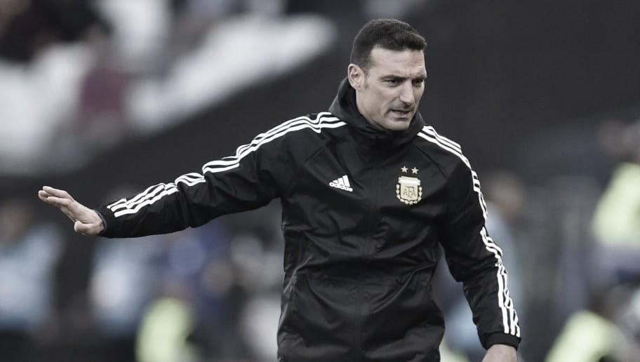 Scaloni evita polêmicas com o Brasil e destaca orgulho da Argentina