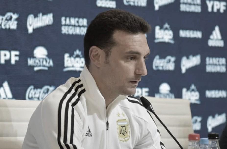 """Lionel Scaloni: """"Mientras se juegue la Copa América, todos tiremos para adelante"""""""