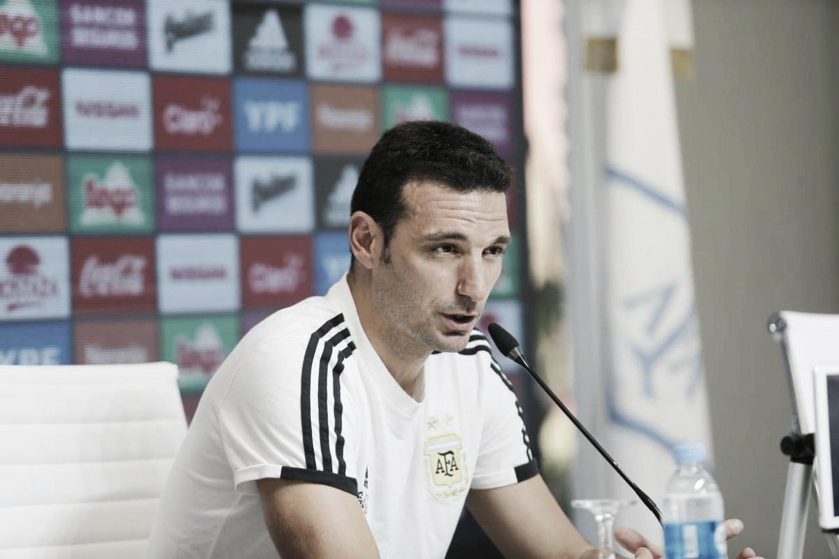 Scaloni confirmó el equipo para el primer choque ante México