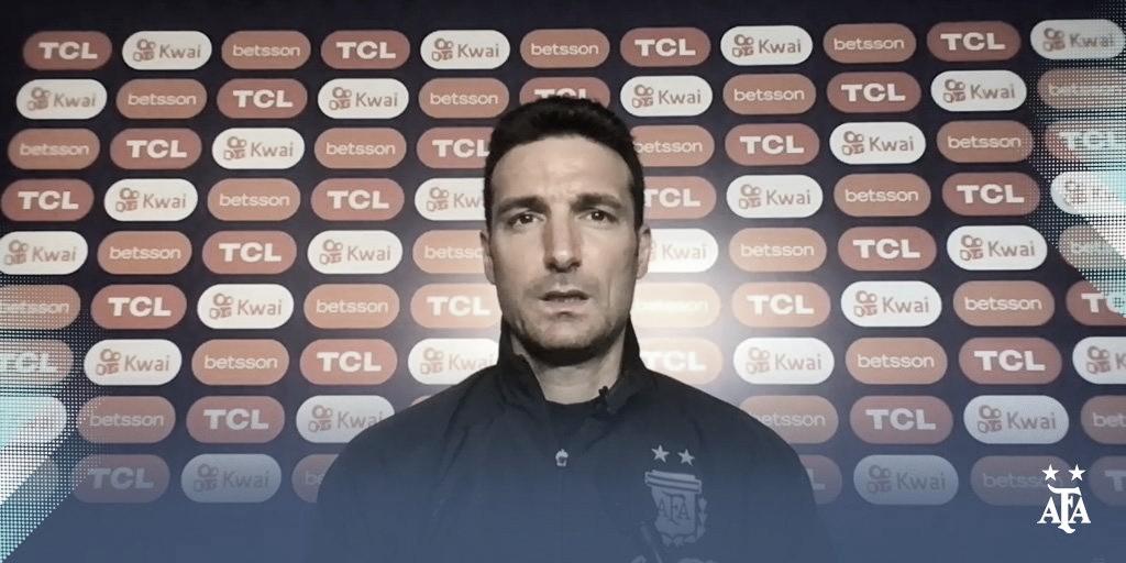 "Lionel Scaloni: ""Tenemos un enorme respeto por Uruguay"""