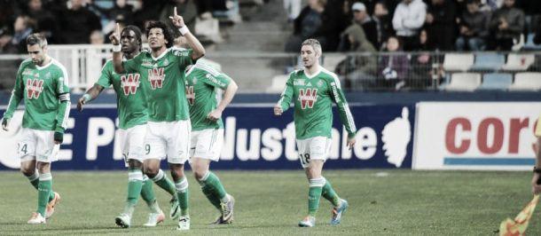 Saint-Étienne derrota Bastia e assume a terceira colocação da Ligue 1 de forma provisória