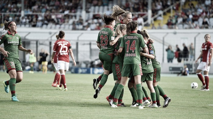 Bayern Munich Frauen 1-1 SC Freiburg Frauen: Kayikci header helps Freiburg to a share of the spoils