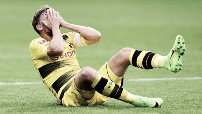 Borussia Dortmund perde Schmelzer, lesionado; Gómez vira desfalque no Wolfsburg