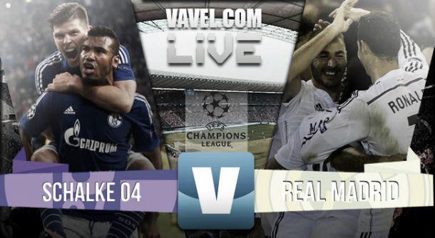 Live Schalke-Real Madrid, diretta risultato partita Champions League (0-2)