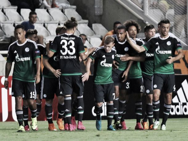 APOEL Nicosia 0-3 Schalke 04: Royal Blues cruise to comfortable win