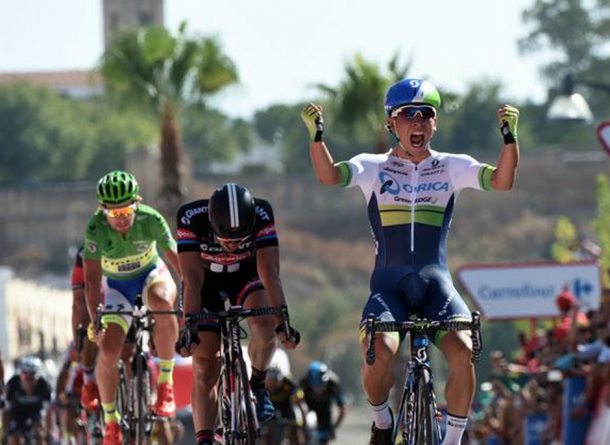 Vuelta, l'australiano Ewan vince la quinta tappa, battuti Degenkolb e Sagan. Dumoulin maglia rossa