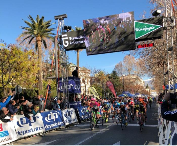 Vuelta a Andalucia, Boudat beffa Modolo a Granada