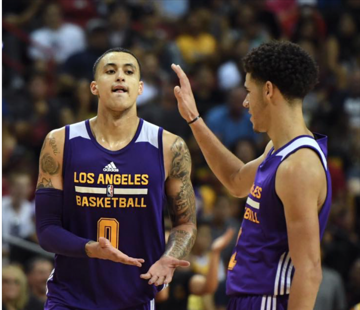 NBA - Lonzo Ball is back in LA