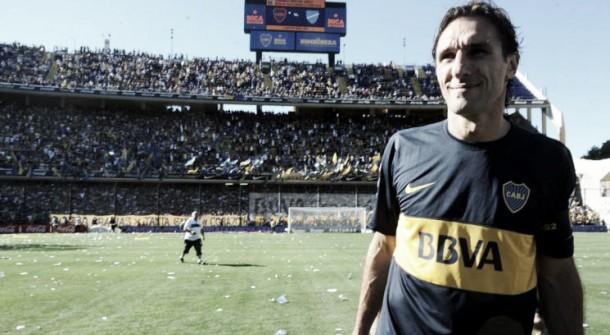 A 4 años del último partido de Rolando Schiavi en Boca
