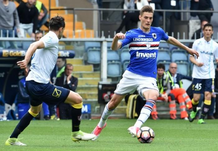 Sampdoria, attesa per l'esito delle visite mediche di Schick. No del Sassuolo a 8 milioni per Ferrari