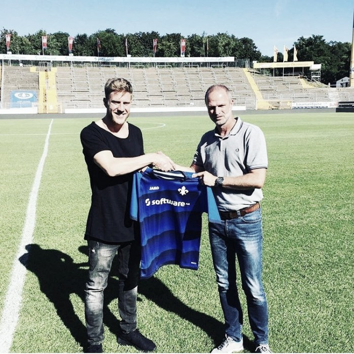 Darmstadt complete loan signing of Hamburg striker Sven Schipplock