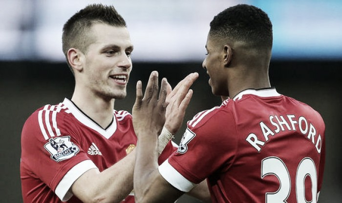 Morgan Schneiderlin praises Marcus Rashford's 'game' since blistering start