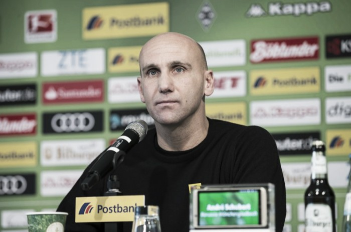 Após eliminação na Champions, André Schubert almeja recuperação do Gladbach diante do Hoffenheim