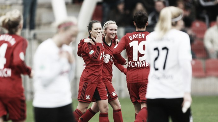 Leverkusen lure Leite as Schwab, Weber and Krahn extend