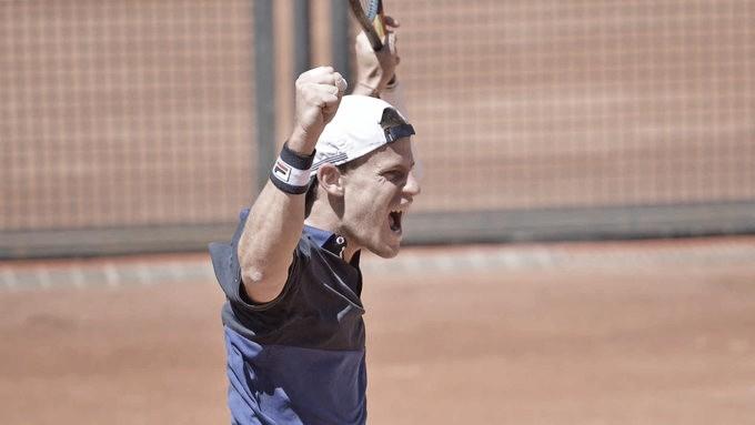 Em Roma, Schwartzman supera Nishikori pela primeira vez e avança à segunda semi do ano