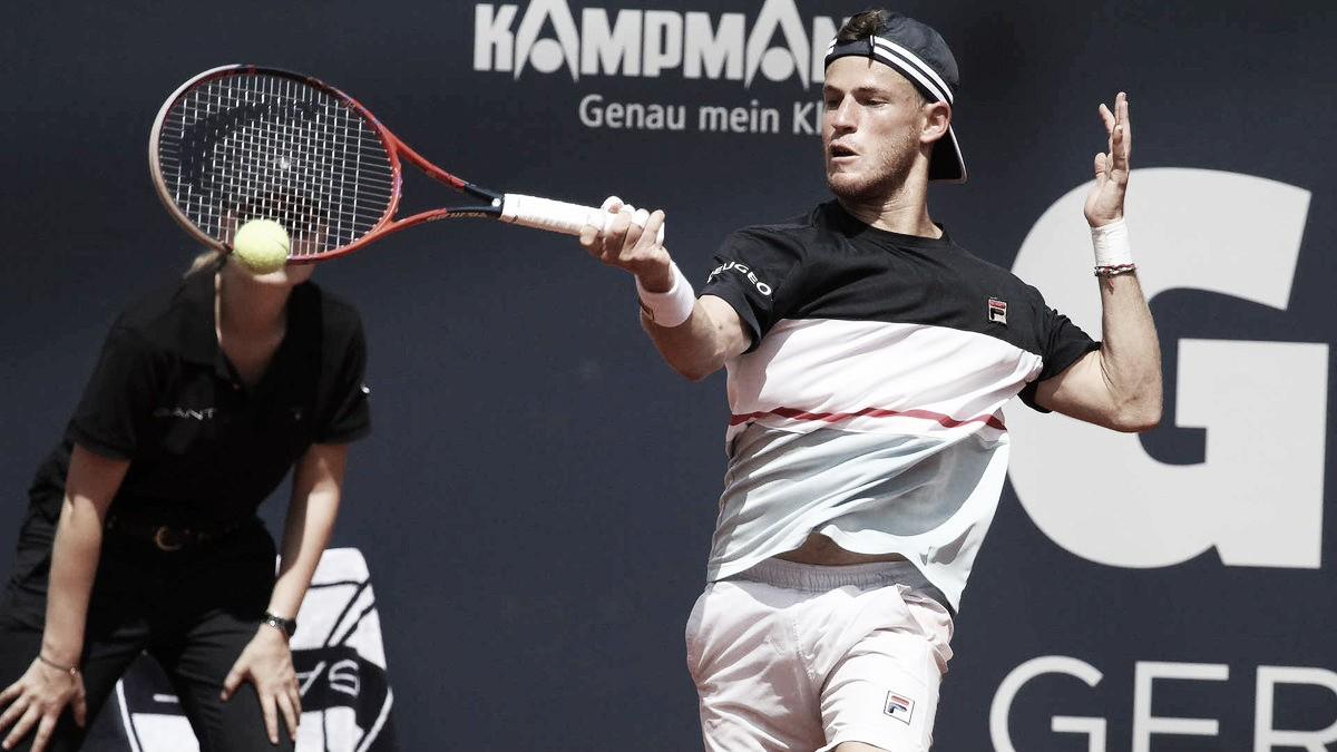Diego Schwartzman derrota Casper Ruud em três sets e avança em Hamburgo