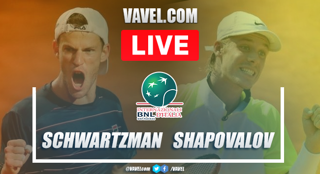 Schwartzman vs Shapovalov highlights: semifinal Roma Masters 2020