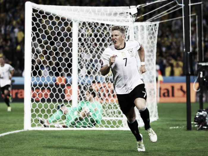 Schweinsteiger defied instructions to score injury-time goal