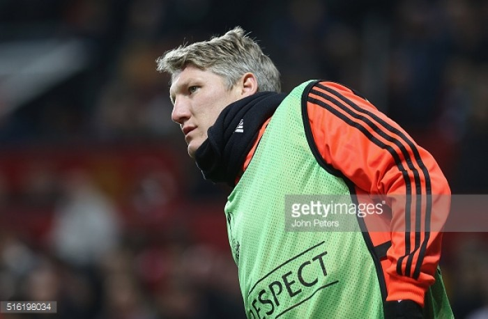 Report: Manchester United's Schweinsteiger expected to take move to MLS