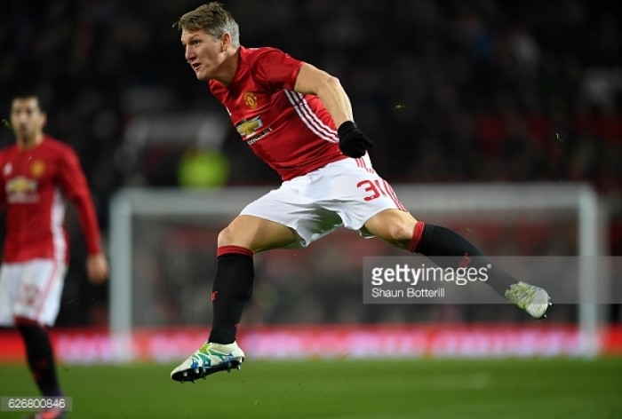 "Bastian Schweinsteiger returns for Manchester United, delighted with ""warm welcome"""