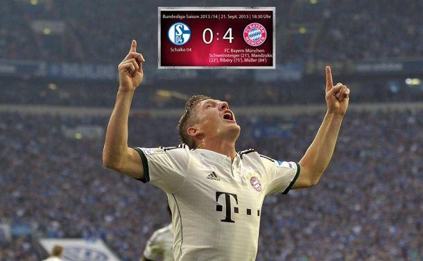 Le Bayern tout en maîtrise