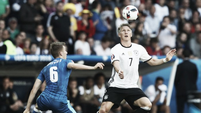 Confiante, Schweinsteiger projeta retornoàtitularidade da Seleção Alemã