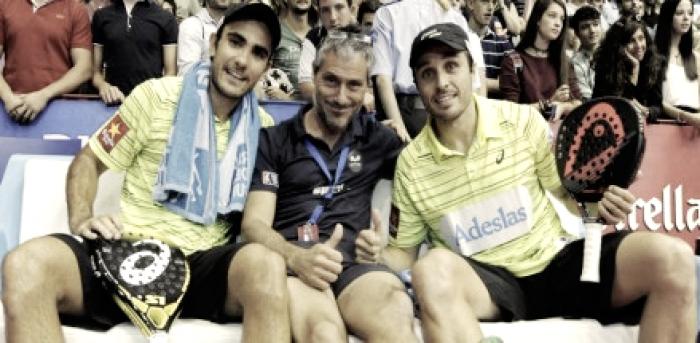Miguel Sciorilli y Fernando Belasteguín, separan sus caminos
