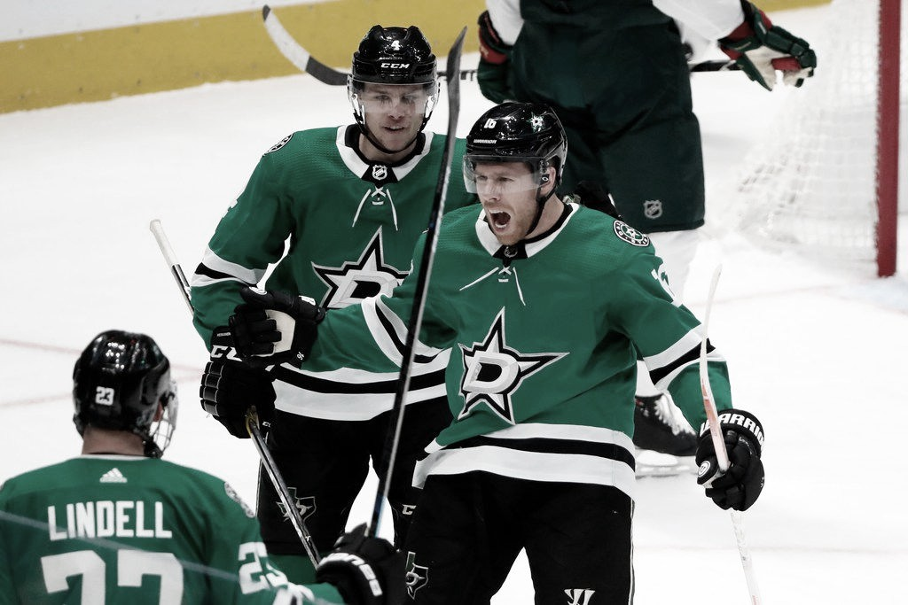 Joe Pavelski buscando la gloria con Dallas Stars