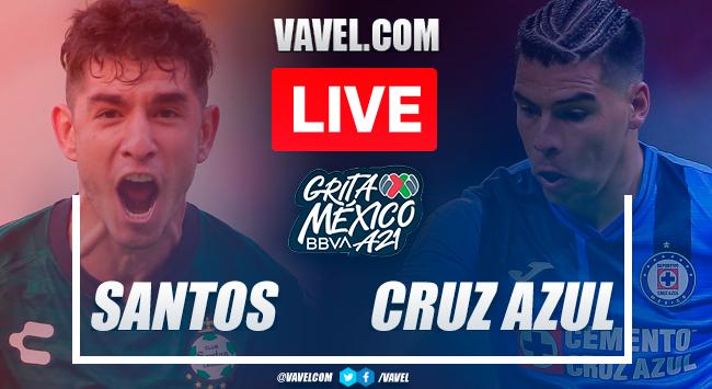 Goals and highlights: Santos 1-1 Cruz Azul in Liga MX Apertura 2021