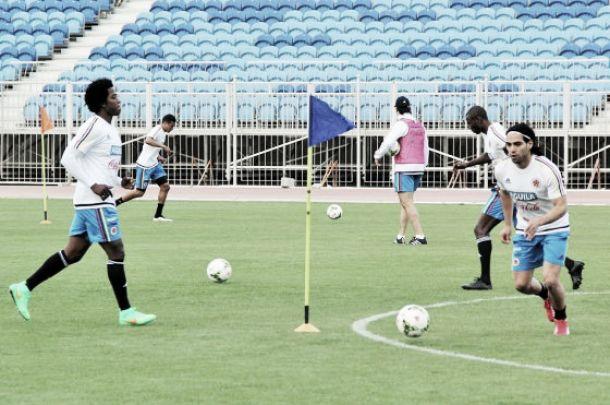 La Selección Colombia ya está entrenando en Bahréin