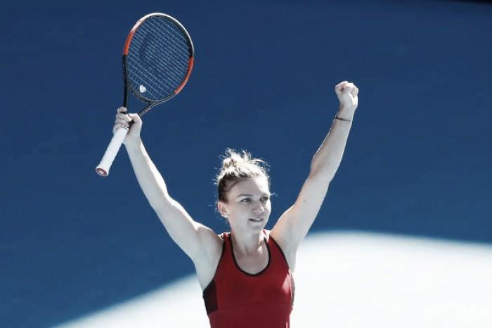 Australian Open: Simona Halep slides past Karolina Pliskova, reaches last four