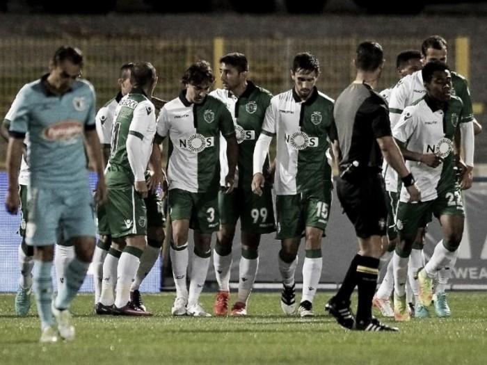 Famalicão x Sporting : Um golo para (L)azar da equipa da casa
