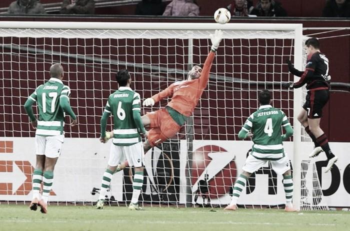 Sporting diz adeus à Europa: Leão lutou, mas cai aos pés do Bayer Leverkusen