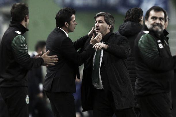 Marco Silva lança indirecta a Bruno de Carvalho