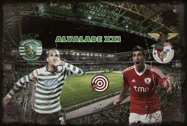 Sporting x Benfica: os goleadores do Alvalade XXI