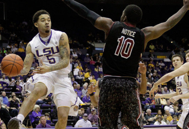 LSU Survives South Carolina In The PMAC.