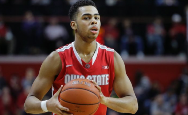 D'Angelo Russell Tallies Triple-Double As Ohio State Trounces Rutgers