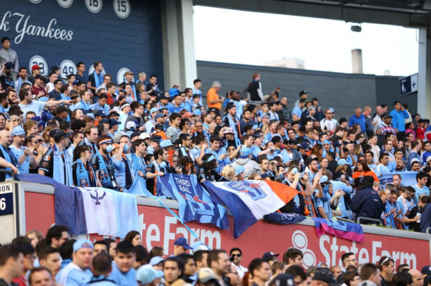New York City FC-Seattle Postgame from the Locker Rooms