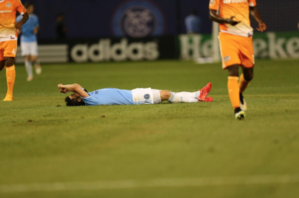 NYCFC; Houston Dynamo Share The Spoils